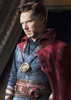 Extreme detail of Dr. Strange Vest