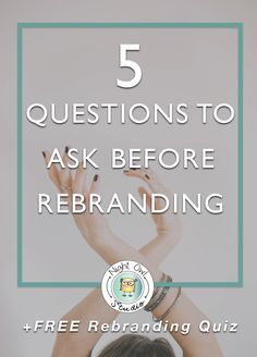 Rebranding can seem like a daunting and intimidating task for every business owner. It can be risky if it is not done properly or done for the wrong reasons. But done correctly and at the right time it can be a rewarding and beneficial experience. The biggest misconception about branding and rebranding is that a brand is solely a logo. Although a logo is a huge part of a brand there are other many other factors to consider when questioning a rebrand.