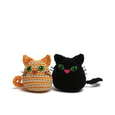 cat crochet pattern pdf quick and easy amigurumi cat by Lybo, $3.50
