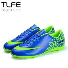 Size 36~44 Men Boy Kids Soccer Cleats Turf Football Soccer Shoes Hard Court Outdoor Sneakers Trainers Adults New Brand NX438