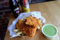 The Pub Chip Shop's English Fish & Chips with Mushy Peas