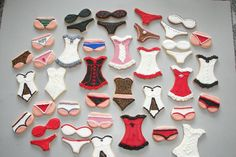Lingerie Party Pack Cookies/Valentine's Day!