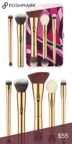 NWT tartiest toolbox brush set & magnetic palette Brand new tarte Makeup Brushes & Tools
