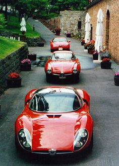1995 GTV  1963 Giulia 1600 Sprint Speciale  1967 Tipo 33 Stradale