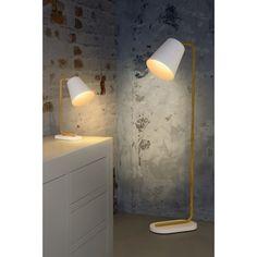 Lucide Cona Vloerlamp Wit - Ø24 cm