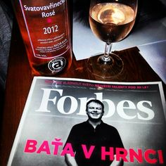 Forbes and wine