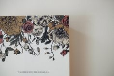 Wedding invitation designed by Hint or Holler Floral Invitation, Floral Wedding Invitations, Real Weddings, Moose Art, Flower Invitation