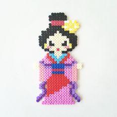 Mulan perler beads by perler_art