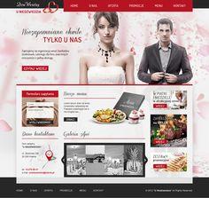 restauracja - Wedding website by Nutsoo Studio, via Behance