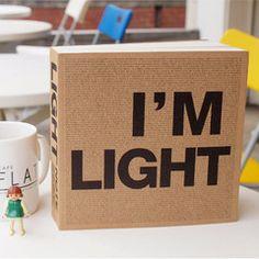 'New' Light Notebook