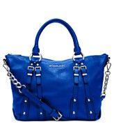 MICHAEL Michael Kors Handbag, Leigh Medium Satchel
