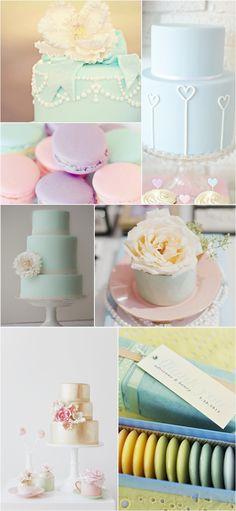Praise Wedding » Wedding Inspiration and Planning » Wedding Palette – Lovely Pastel