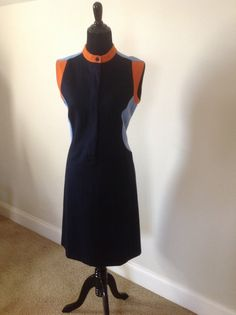 Sporty Color Block Dress by RozzCloset on Etsy, $35.00