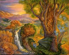 The Guardians by Josephine Wall
