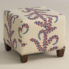 One of my favorite discoveries at WorldMarket.com: Prasana McKenzie Ottoman