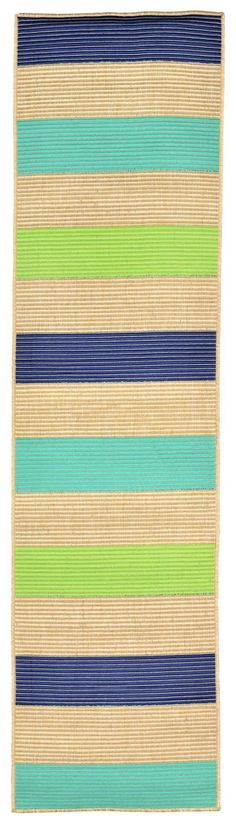 Playa Stripe Cool Indoor/Outdoor Rug