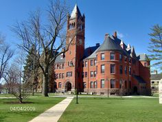 I may be biased, BUT Gettysburg College has one of the most beautiful campuses I've ever seen.  This is Glatfelter Hall where I took quite a few classes.
