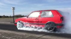 VW Golf Mk2 R33 Turbo 4motion Speedmakers - Vogtland Turboscheune Test &...