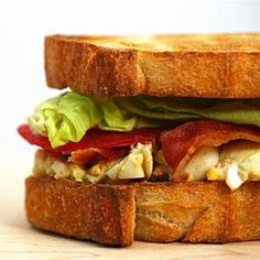 We took the best of two lunchtime favorites to create the creamy, salty, crunchy Egg Salad BLT.