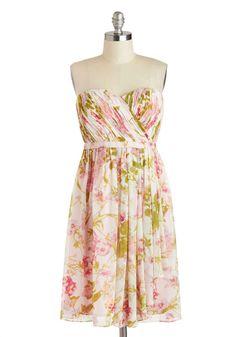 ModCloth Floral Fair Dress
