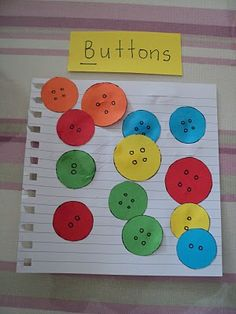 A Little Learning For Two: 'B' is for Buttons Letter B Activities, Playgroup Activities, Alphabet Letter Crafts, Alphabet Phonics, Preschool Letters, Alphabet Book, Learning The Alphabet, Preschool Activities, Tot School
