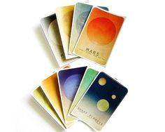 These beautiful stickers make a wonderful gift for budding astronomers.