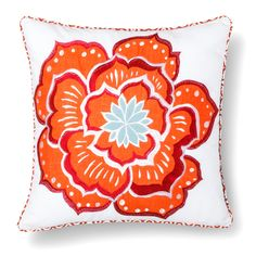 homthreads™ Gretta Flower Decorative Pillow - Mu... : Target