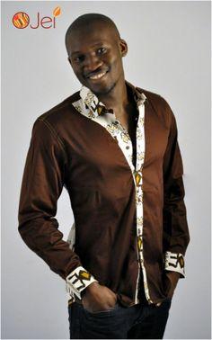 Chemise akan spirit by Ojei #Afrikrea #Fashion #AfricaPrint # Africa #Wax