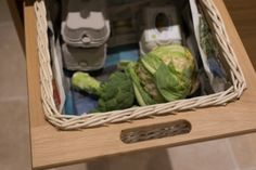 Modern Oak - Sheffield Sustainable Kitchen oak surround basket drawers