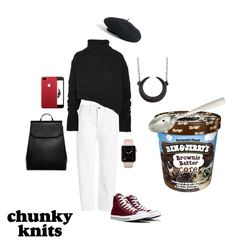 """I Scream For..."" by rockin-robin-19 on Polyvore featuring Vince, Ann Demeulemeester, Converse, CHARLES & KEITH, Venus and Juliska"