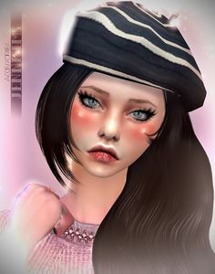 Jennisims: Downloads sims 4:Base Game compatible Hats Mix