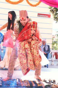 nepali wedding tradition bride groom