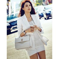 'Avengers 2's Soo Hyun is a goddess taking in the breeze in 'W Korea'... ❤ liked on Polyvore