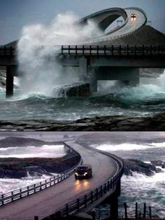 Science Discover The Atlantic Ocean Road in Norway looks like a Hot Wheels track. Scary Bridges Ouvrages D& Amazing Animal Pictures Road Routes Dangerous Roads Beautiful Places To Travel Winding Road Amazing Architecture Places Around The World Beautiful Places To Travel, Wonderful Places, Beautiful Roads, Scary Bridges, Ouvrages D'art, Amazing Animal Pictures, Road Routes, Dangerous Roads, Winding Road
