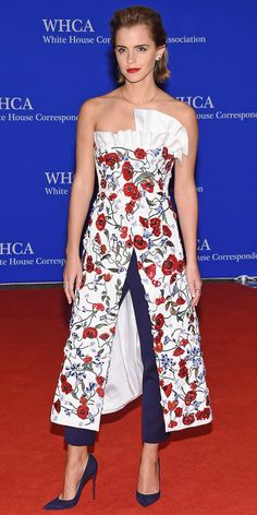 See All the Stars Bringing the Glam Factor to the 2016 White House Correspondents' Dinner - Emma Watson  - from InStyle.com