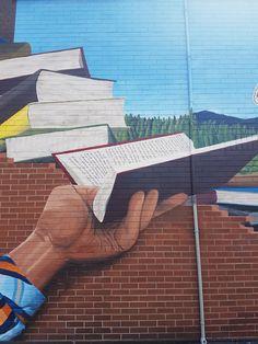 Took a closer look at this gorgeous mural on Barton St! Hamilton Ontario, Closer