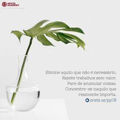 http://arata.se/pp18 Elimine aquilo que não é necessário. Rejeite trabalhos sem valor. Pare de acumular coisas. Concentre-se naquilo que realmente importa. __________________________________________________________________________ #ArataAcademy #ArataAcademyPORTUGUESE #AutoDesenvolvimento #Domínio #edtech #elearning #instadaily #PhotoOfTheDay #PicOfTheDay #Produtividade #SeiitiArata #importa #coisas #concentre #portugues