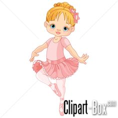 CLIPART LITTLE BALLERINA