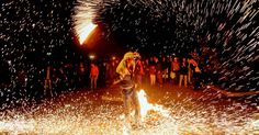 Fire Festival in Iran - Last Wednesday of Persian new year