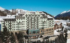 Carlton Hotel St. Moritz, Spa Hotel