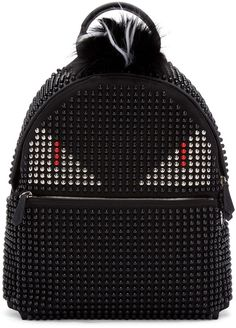 Fendi Studded Backpack Replica