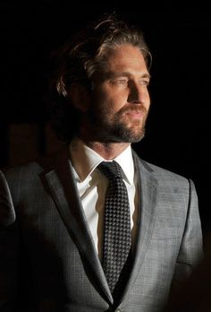 Gerard Butler ... the man is absolutely drop dead gorgeous!  Fell in love at PS I love you.