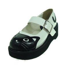 Cat shoes.