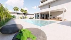 Outdoor Design - Garden and Pool in catania - Design arch. Alessandro Frasson @alessandrofrasson_architetto / www.alessandrofrasson.com