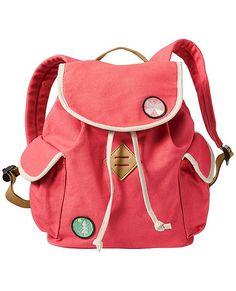 Canvas Camp Backpack by Hanna Andersson @hanna