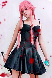 Yuno Gasai from Future Diary / Mirai Nikki Anime Cosplay Girls, Vocaloid Cosplay, Kawaii Cosplay, Amazing Cosplay, Best Cosplay, Yuno Gasai Cosplay, Rapunzel, Mirai Nikki, Bts Anime