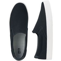 UNIQLO UNISEX Slip-on shoes ($39) ❤ liked on Polyvore featuring shoes, black, uniqlo, black slip on shoes, black cocktail shoes, leather slip on shoes and slipon shoes