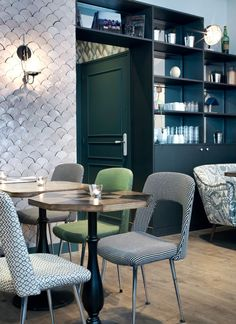 #Dining Inspiration | Café Pinson X by Chzon Design