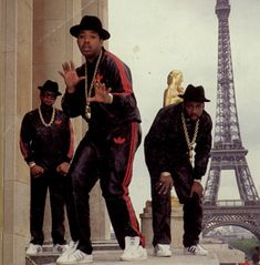 Run DMC - from the background it looks like they'll be joining us in Paris!  Hell Yea!
