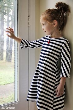 DIY 30-Minute Pleated Dress (prudent baby)